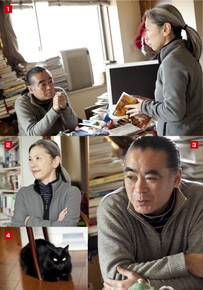 石埜穂高さん+由紀江さん