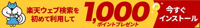 1,000ポイントプレゼント